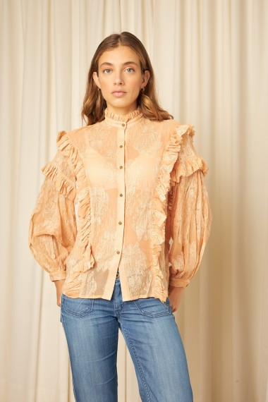 Embroidered blouse TRACY